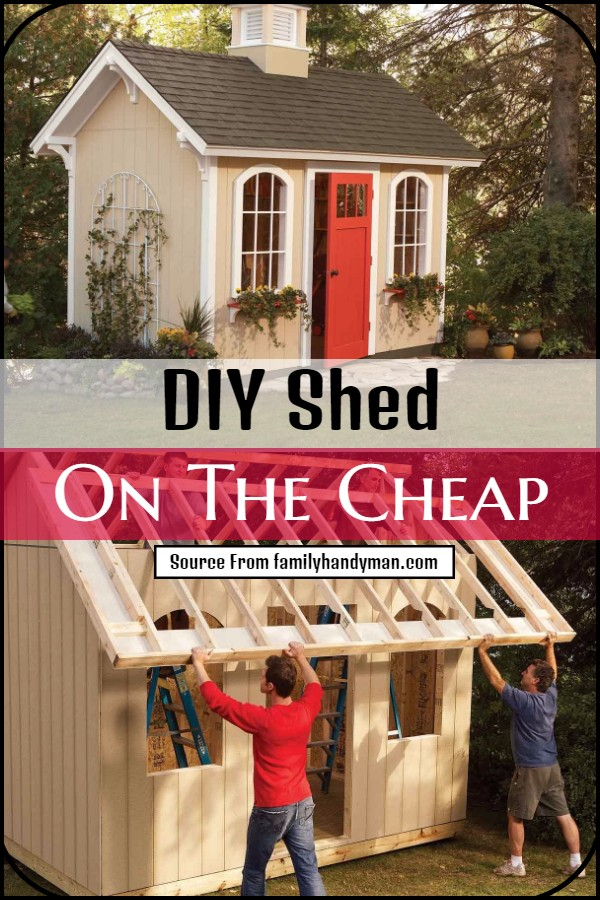 Shed On The Cheap
