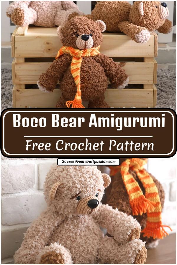 Boco Amigurumi Pattern