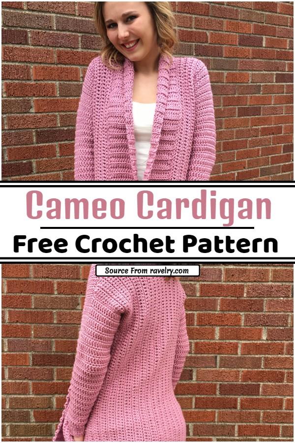 Crochet Cameo Cardigan