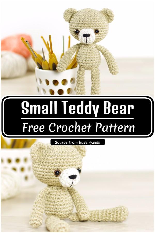 Crochet Small Teddy Bear