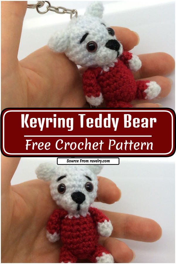 Free and adorable Keyring pattern