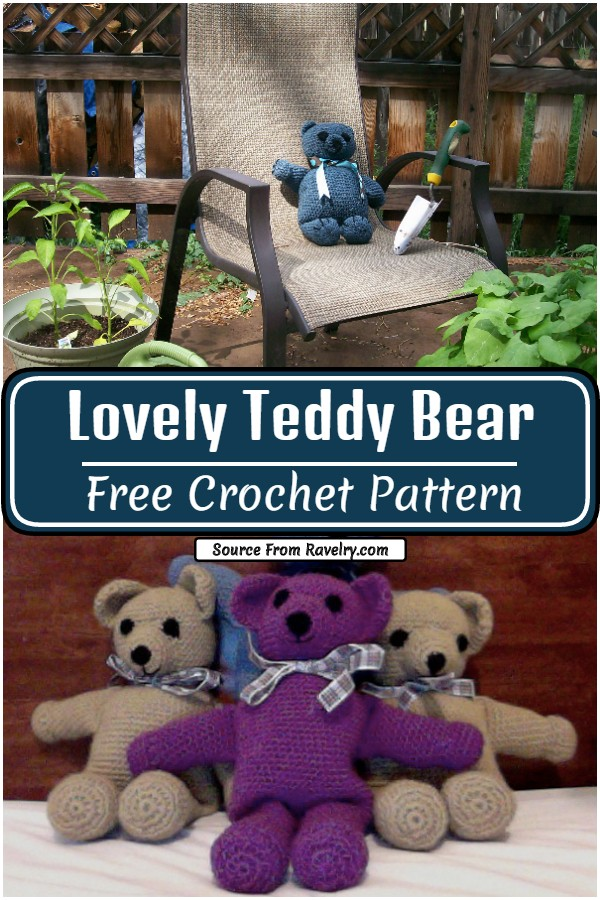 Lovely Crochet Teddy Bear Pattern