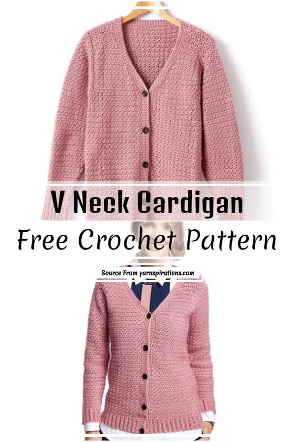 V Neck Free Pattern