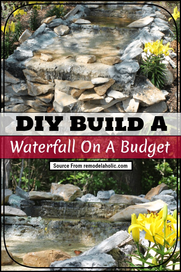 DIY Build A Waterfall On A Budget