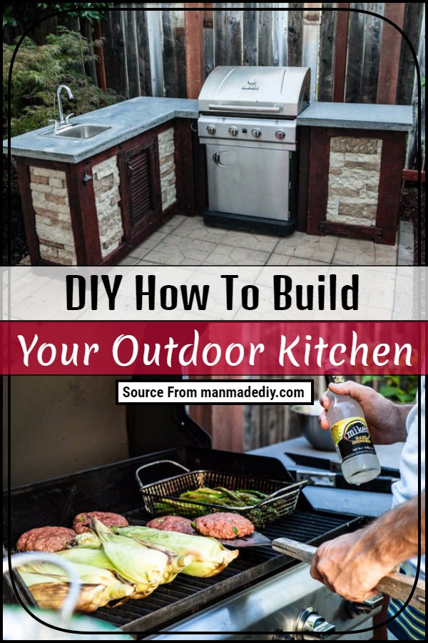 DIY How To Build Your Outdoor Kitchen