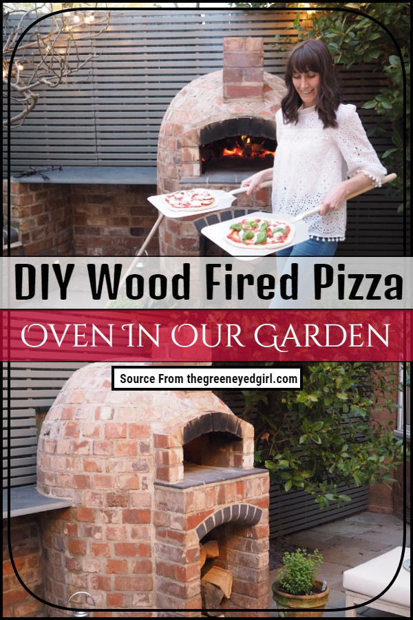 DIY Wood Fired Pizza Oven In Our Garden 1