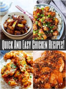 Quick And Easy Chicken Recipes!