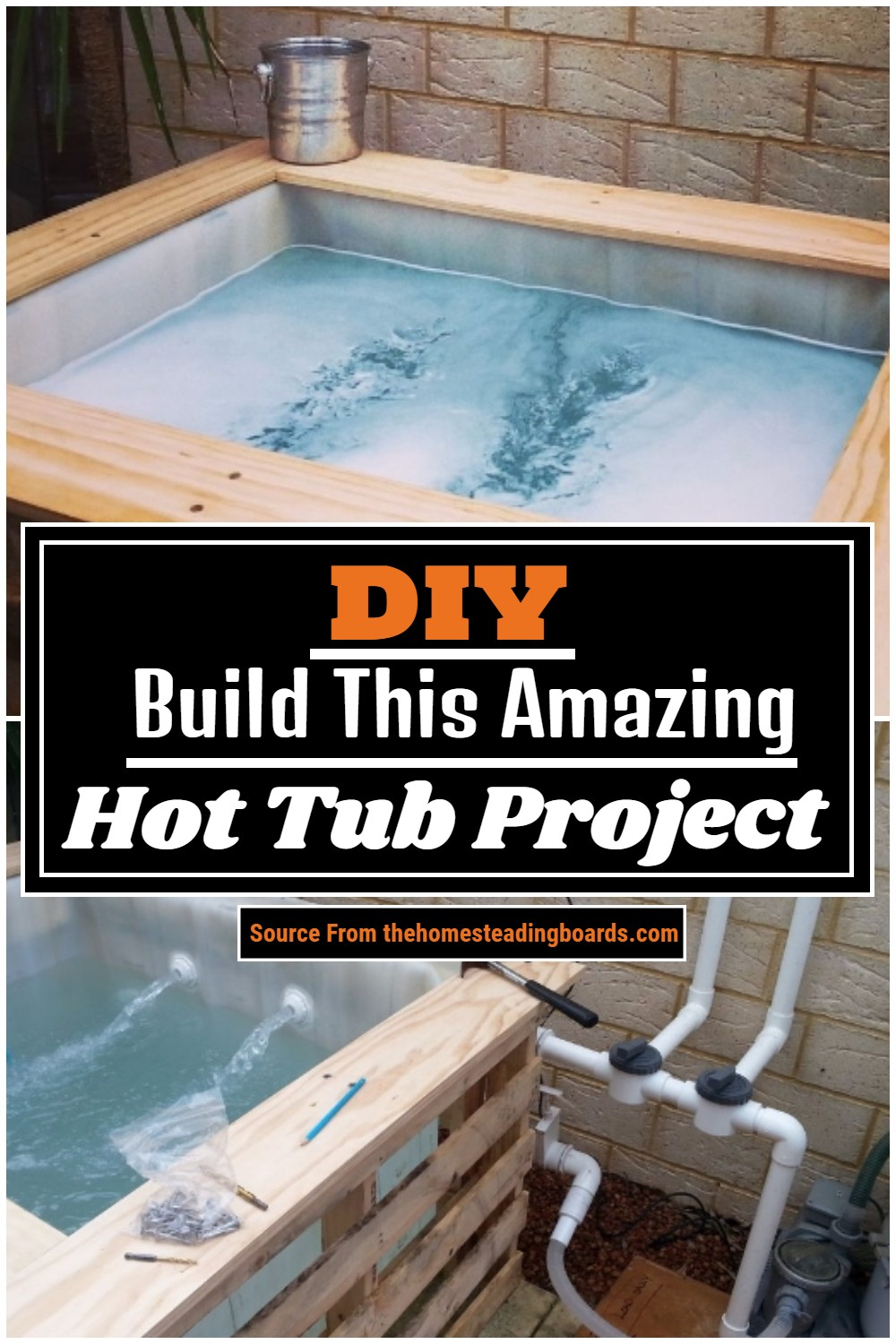 DIY Build This Amazing Hot Tub Project