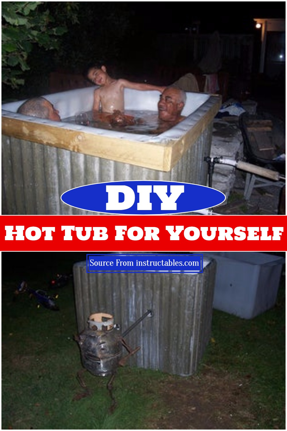 DIY Hot Tub For Yourself