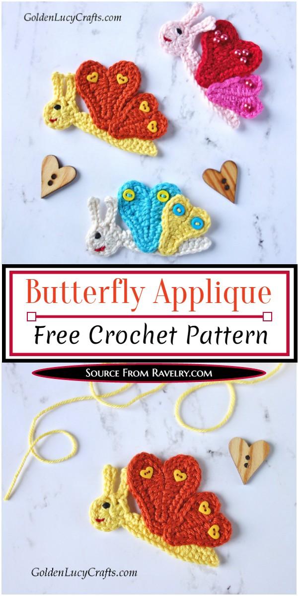 Butterflies Applique Pattern
