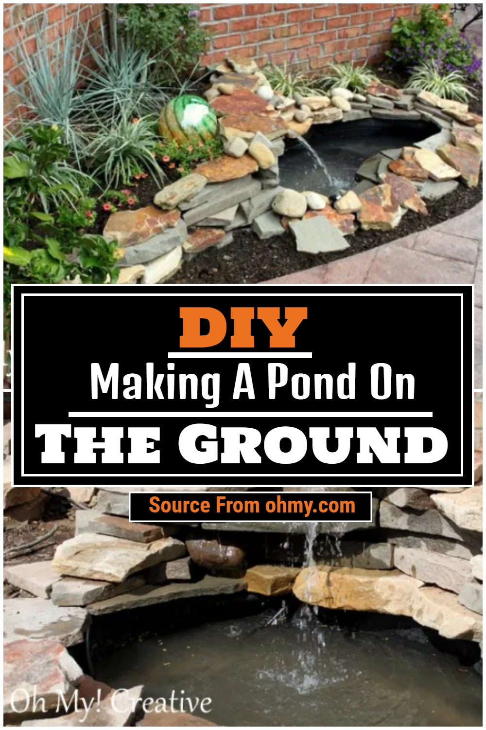 Making A Pond On The Ground