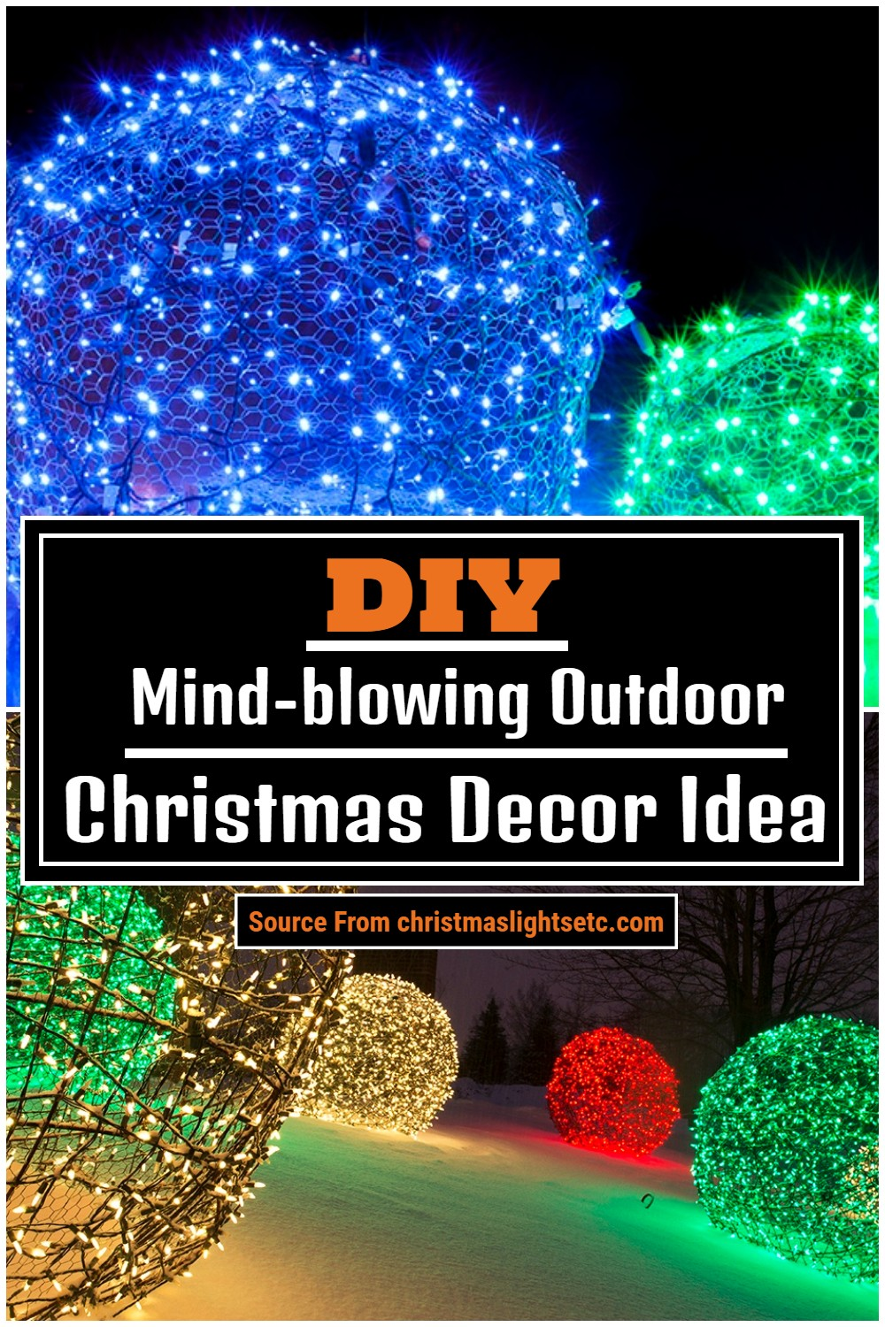 Mind-blowing Outdoor Christmas Decor Idea