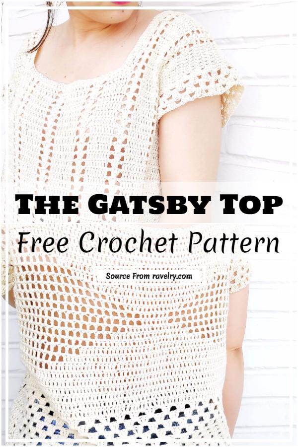 Crochet The Gatsby Top Pattern