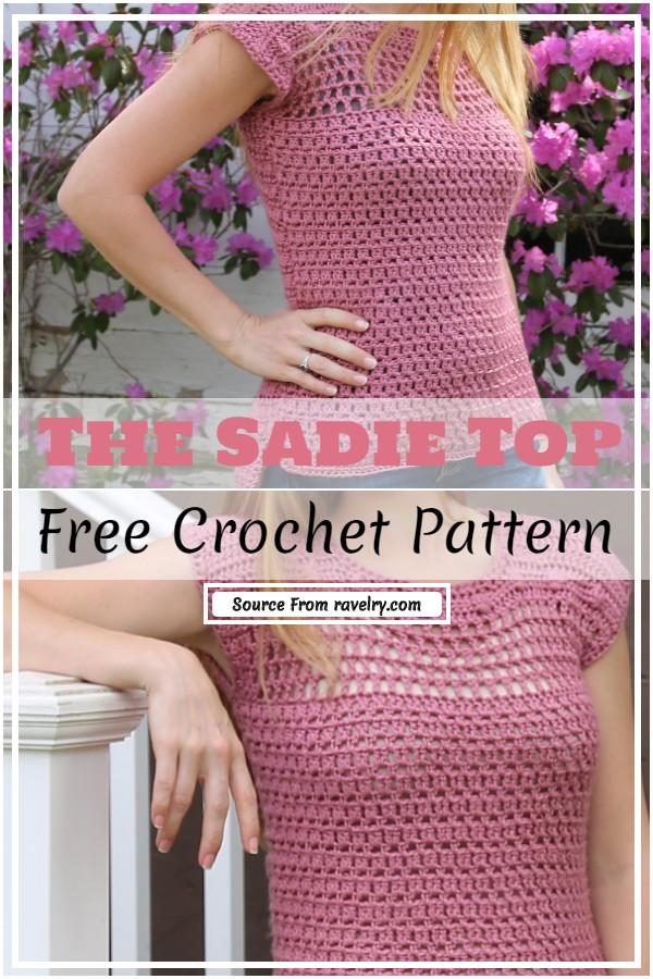Crochet The Sadie Top Pattern