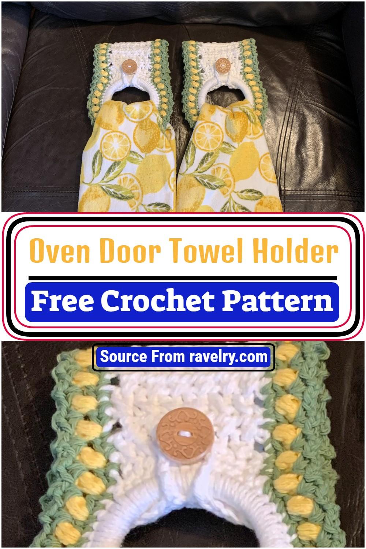 Oven Door Crochet Towel Holder Pattern