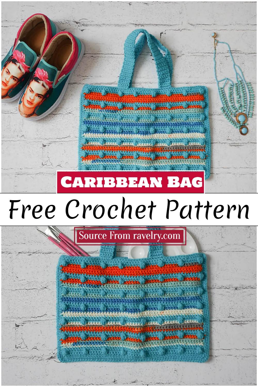 Crochet Caribbean Bag Pattern