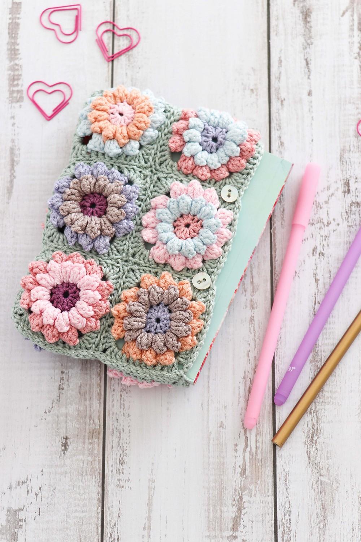 Crochet Flower Clutch Bag Pattern