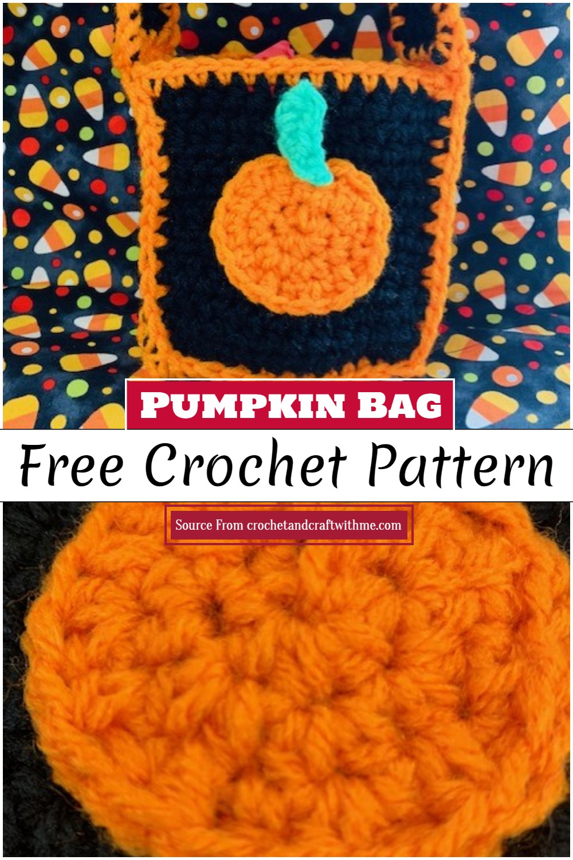Crochet Pumpkin Bag Pattern