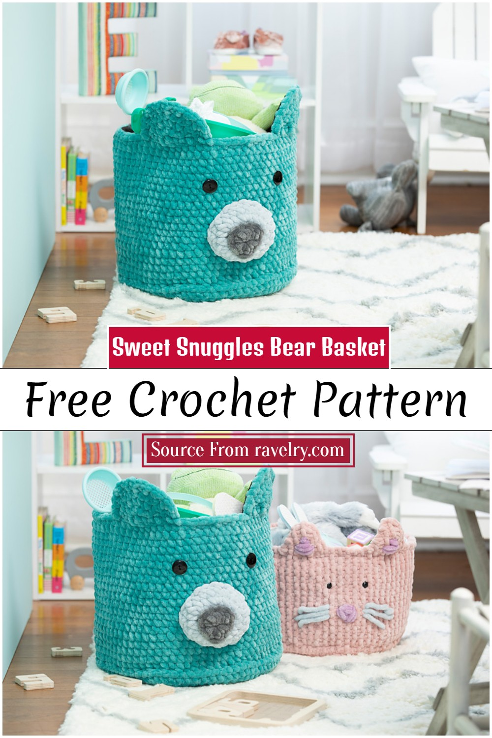 Sweet Snuggles Bear Pattern