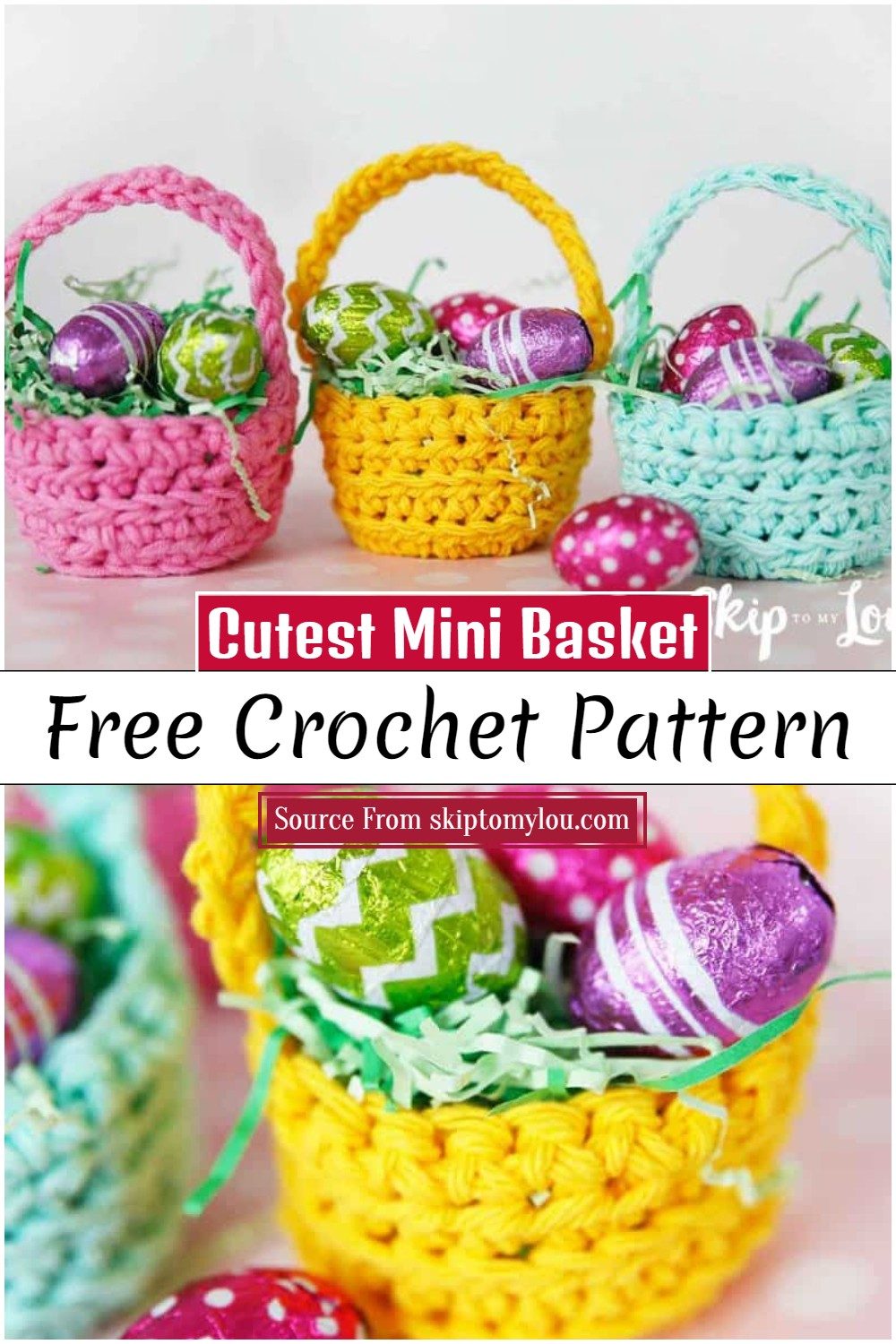Cutest Mini Basket Pattern