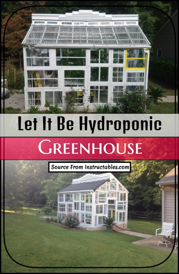 Let It Be Hydroponic Greenhouse