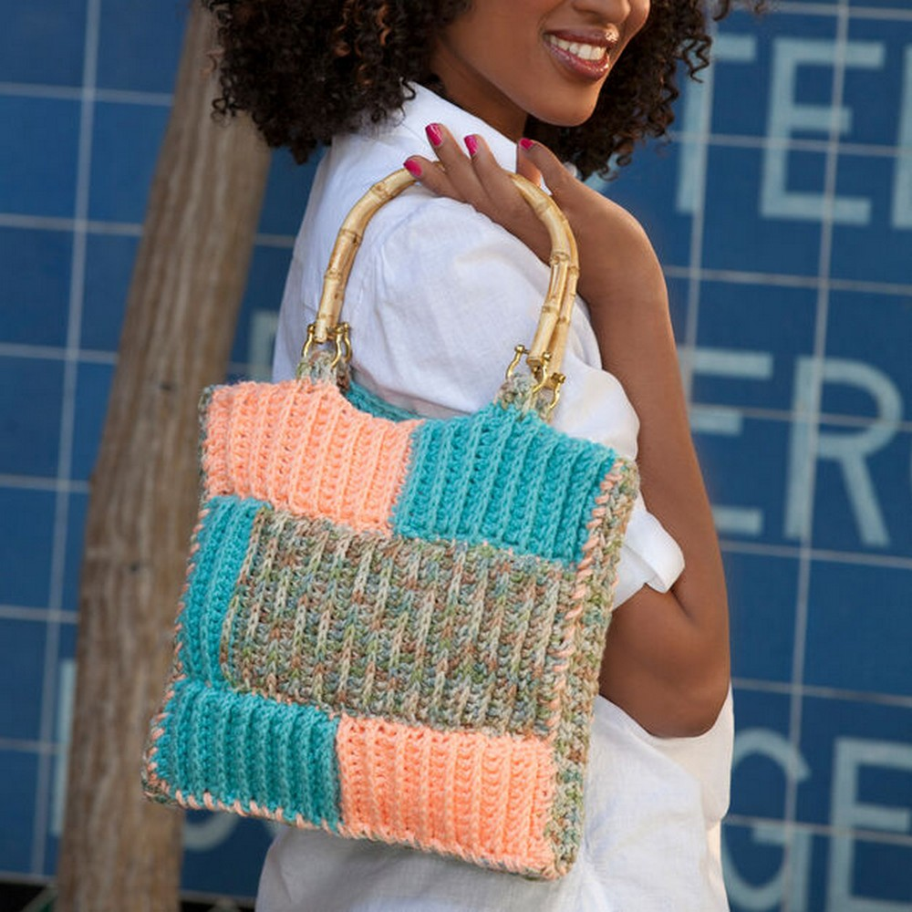Ribbed Project Bag