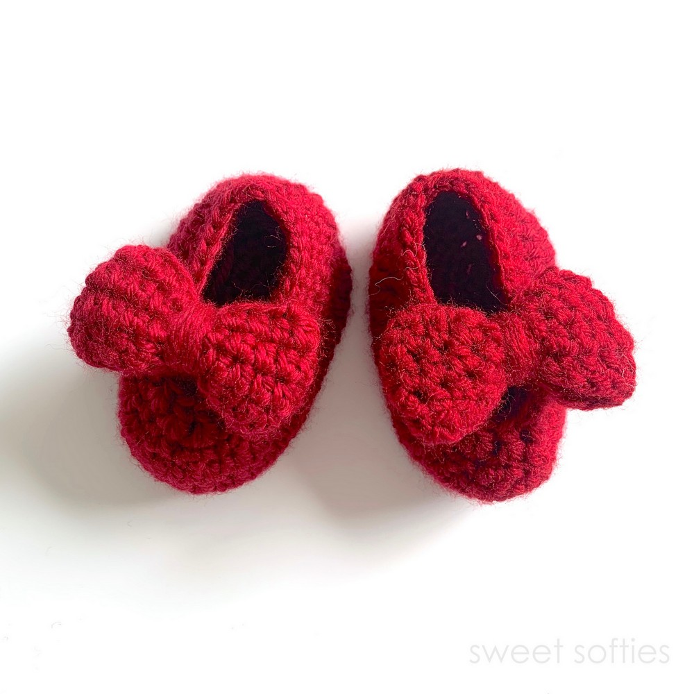 Classic Baby Mary Jane Booties