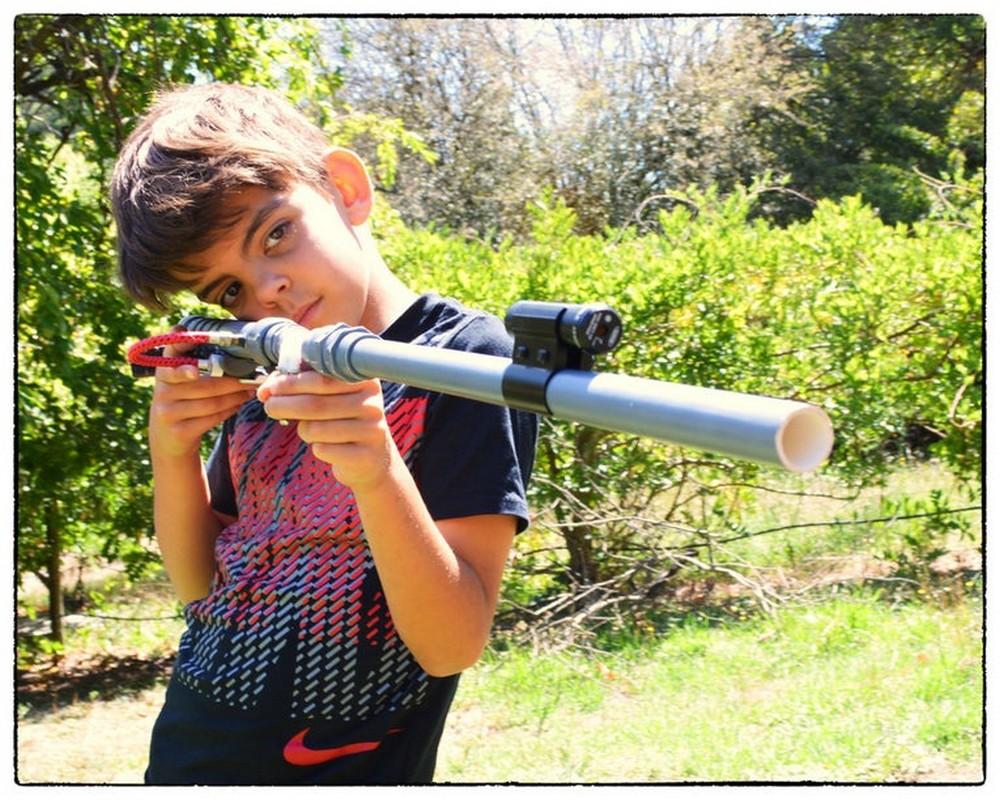 Compressed PVC Air Blow Gun