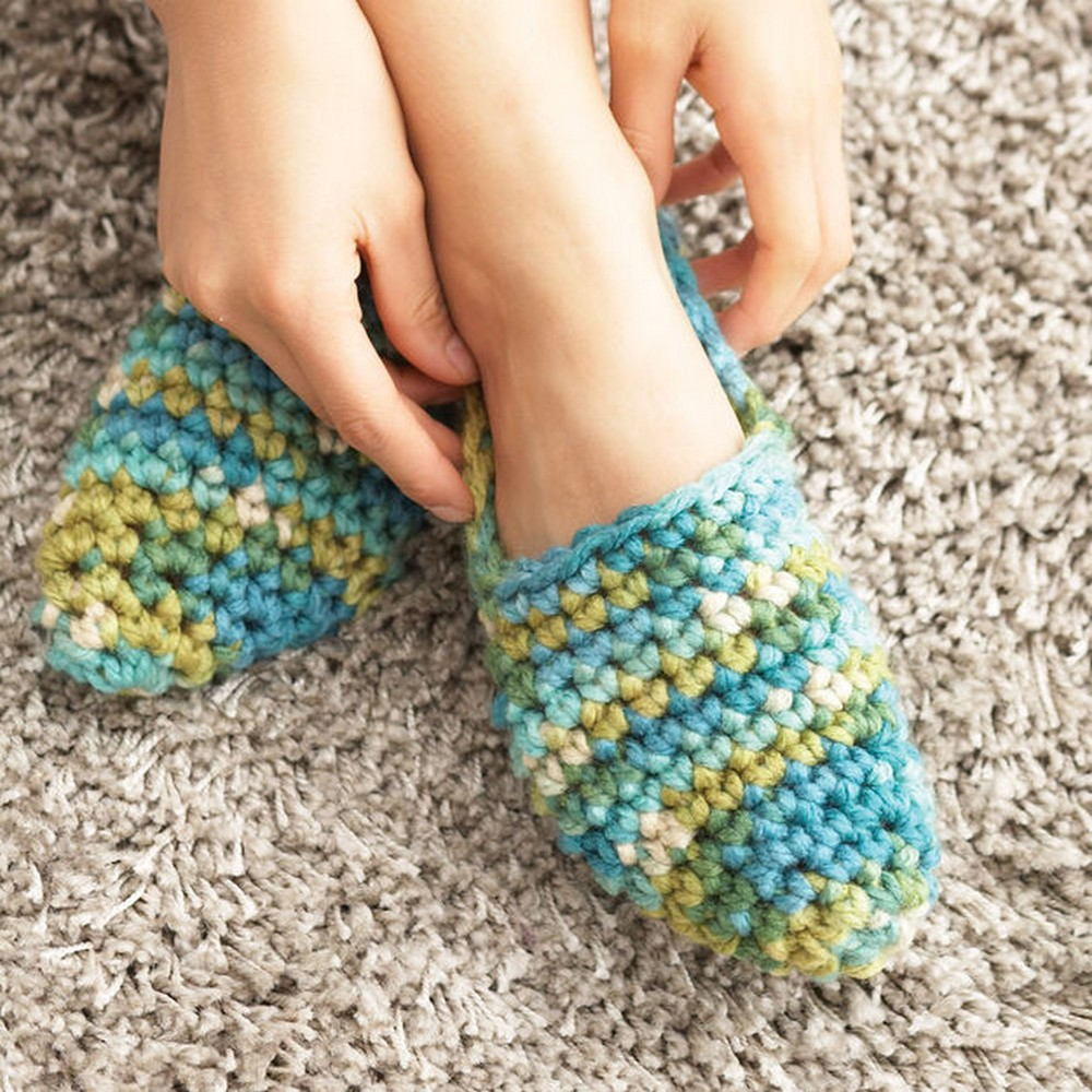 Crochet Quickie Slippers