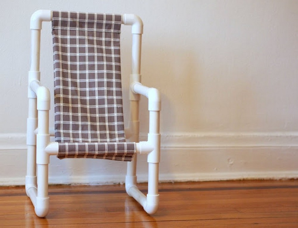 DIY Make A Toddler Chair Out Of Pvc Pipe