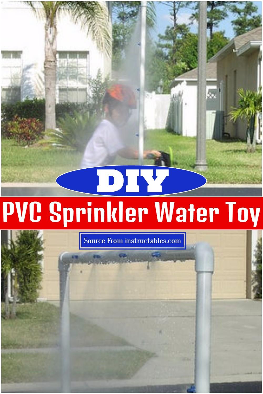 DIY PVC Sprinkler Water Toy