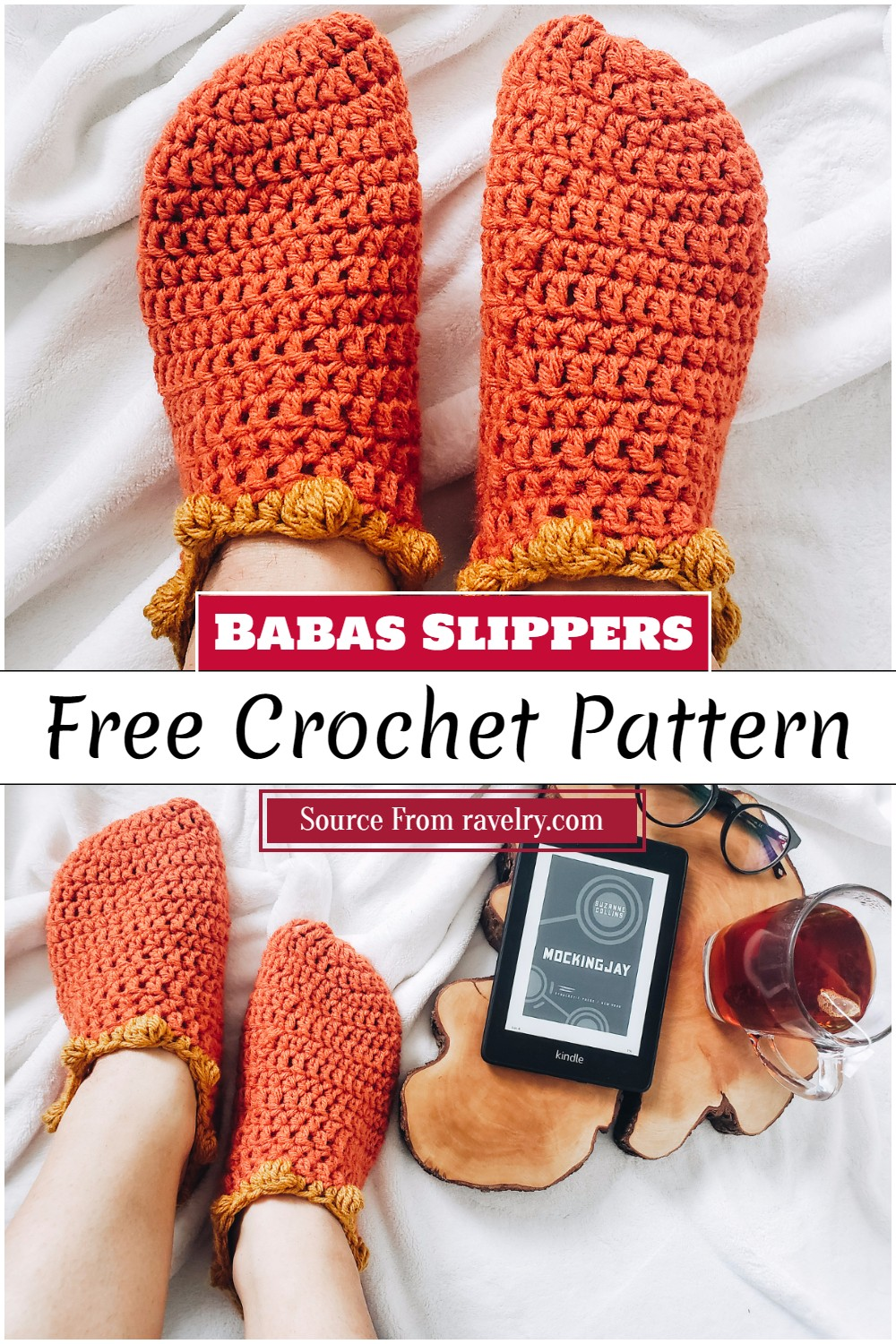 Free Crochet Babas Slippers