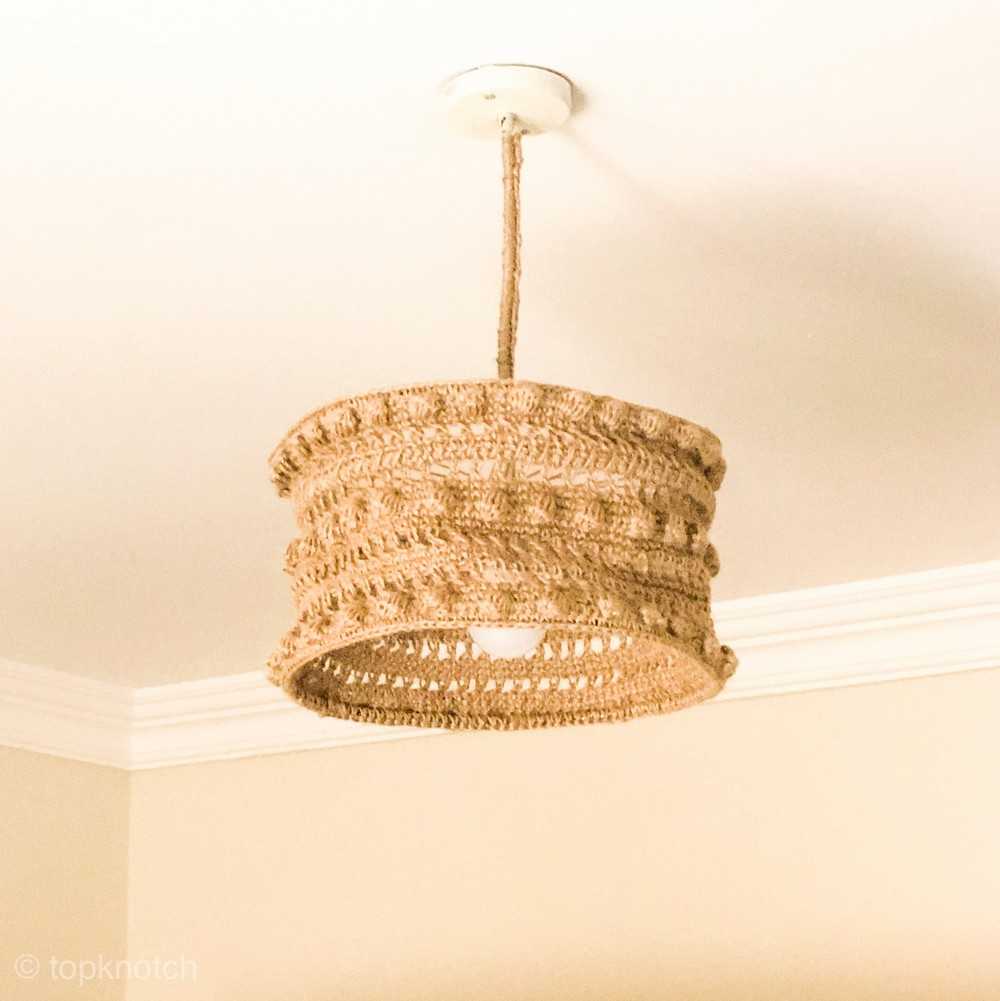 Free Crochet Ceiling Lampshade