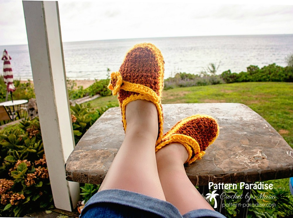 Free Crochet Southold Slippers