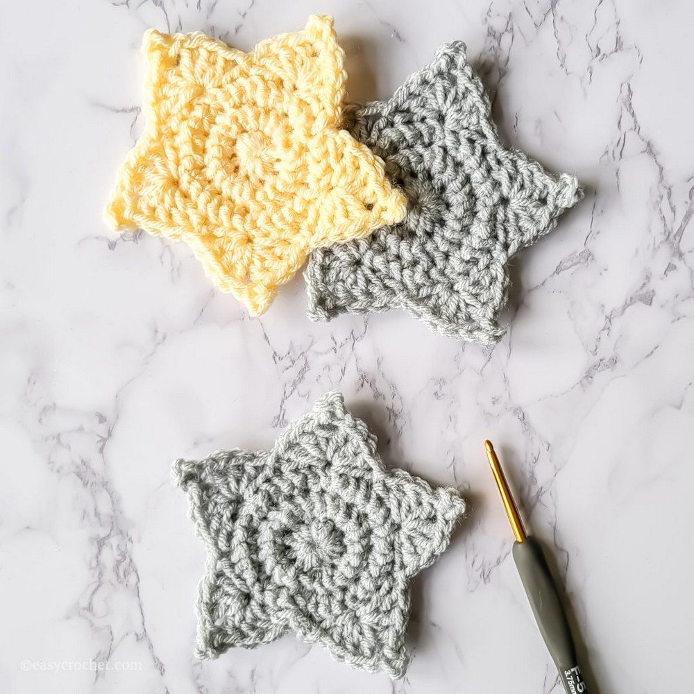 How To Crochet A Star Pattern