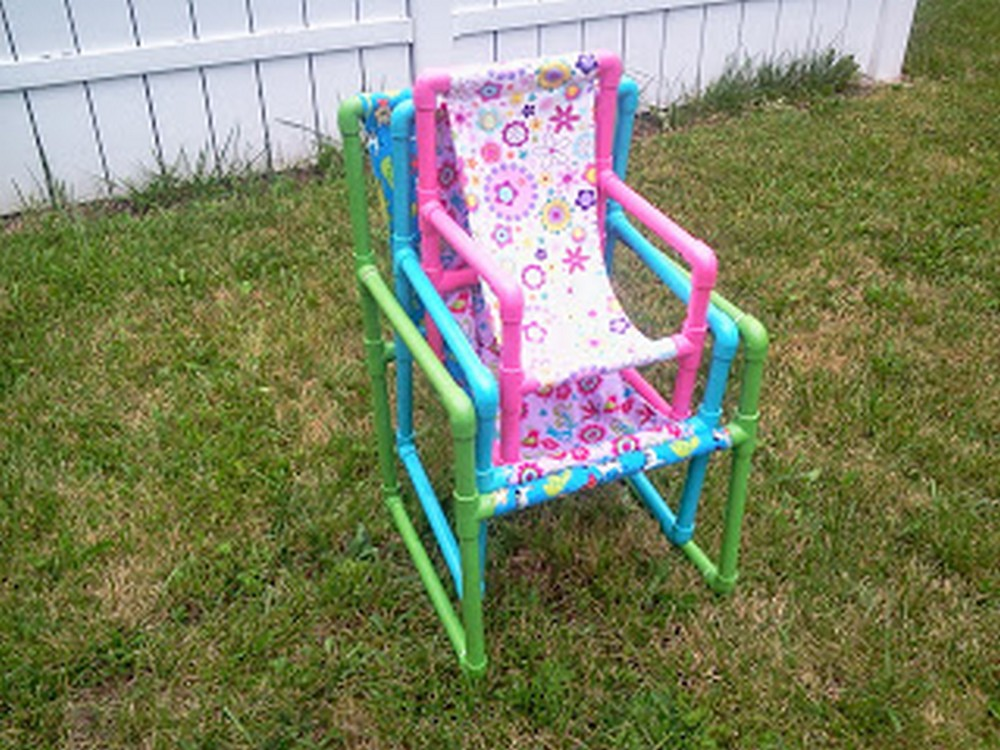 Pvc Pipe Chairs In 3 Sizes