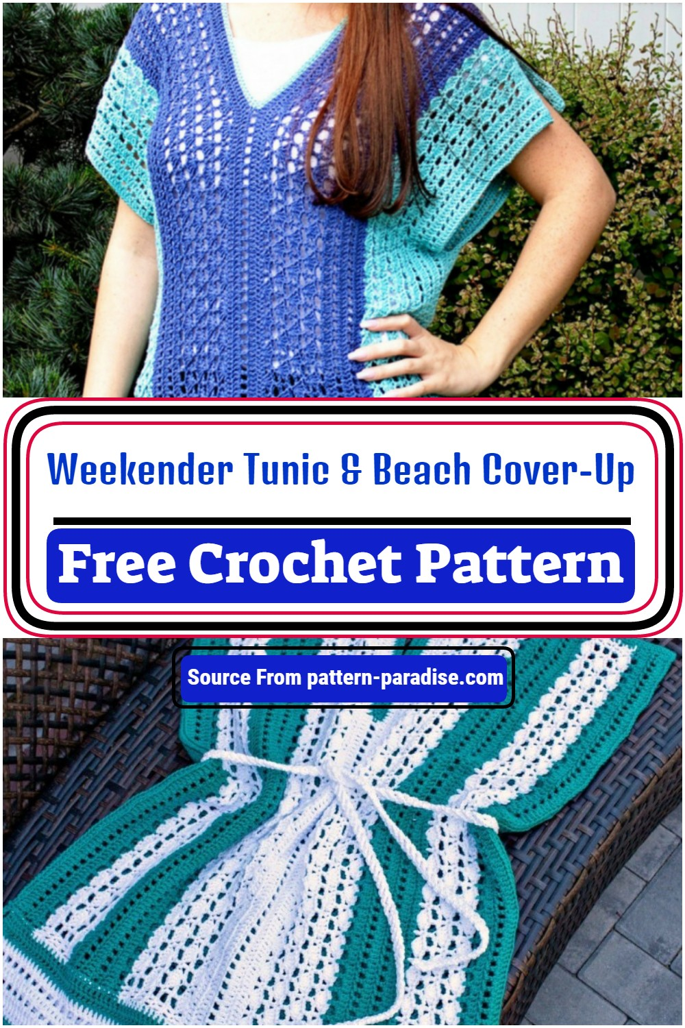 Weekender Tunic & Beach Cover-Up Pattern