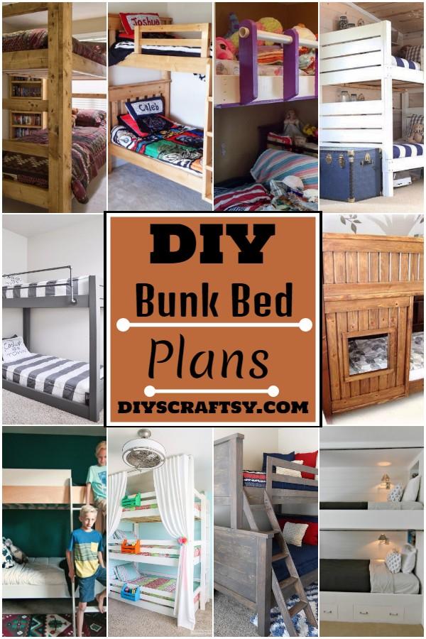 DIY Bunk Bed Plans