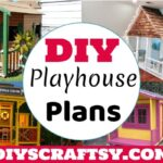 30 Free DIY Playhouse Plans in Low Cast