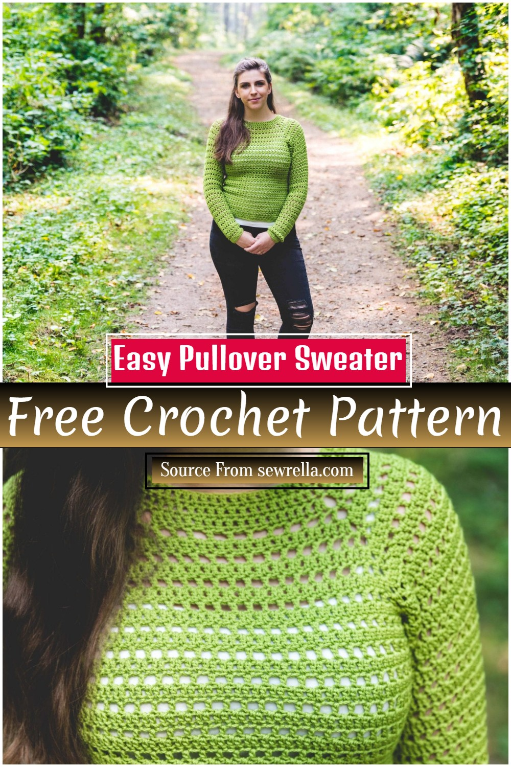 Easy To Make Sweater Pattern