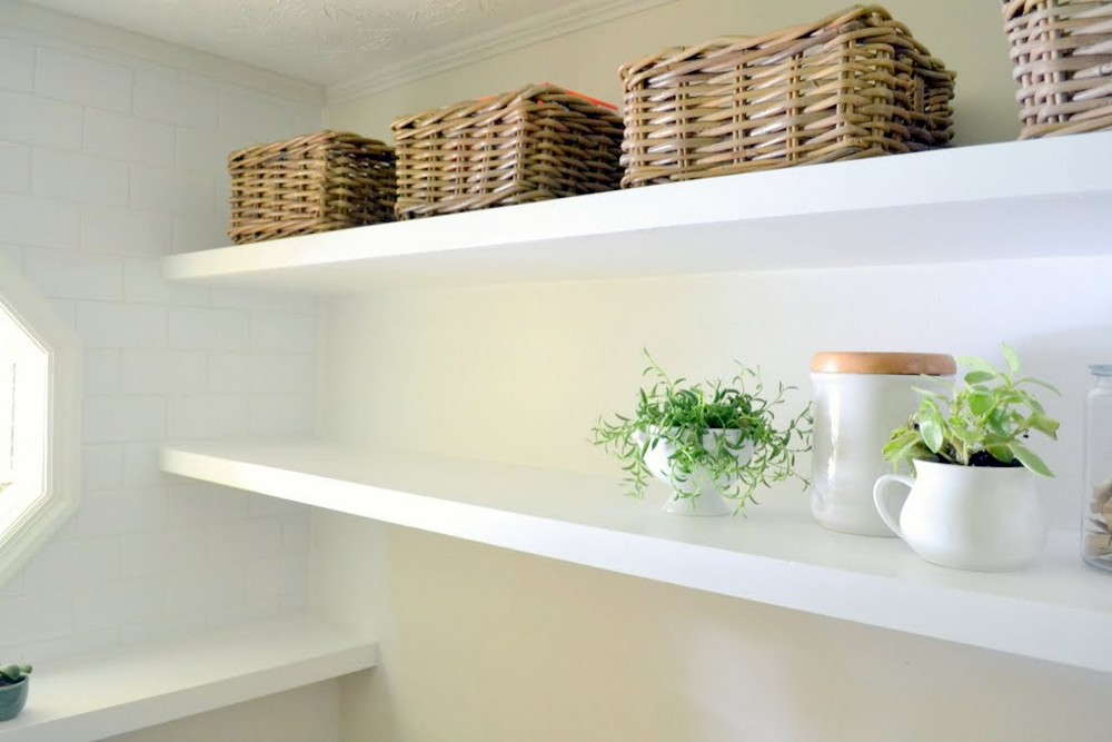 How To Create Long Deep & Thin Floating Shelves