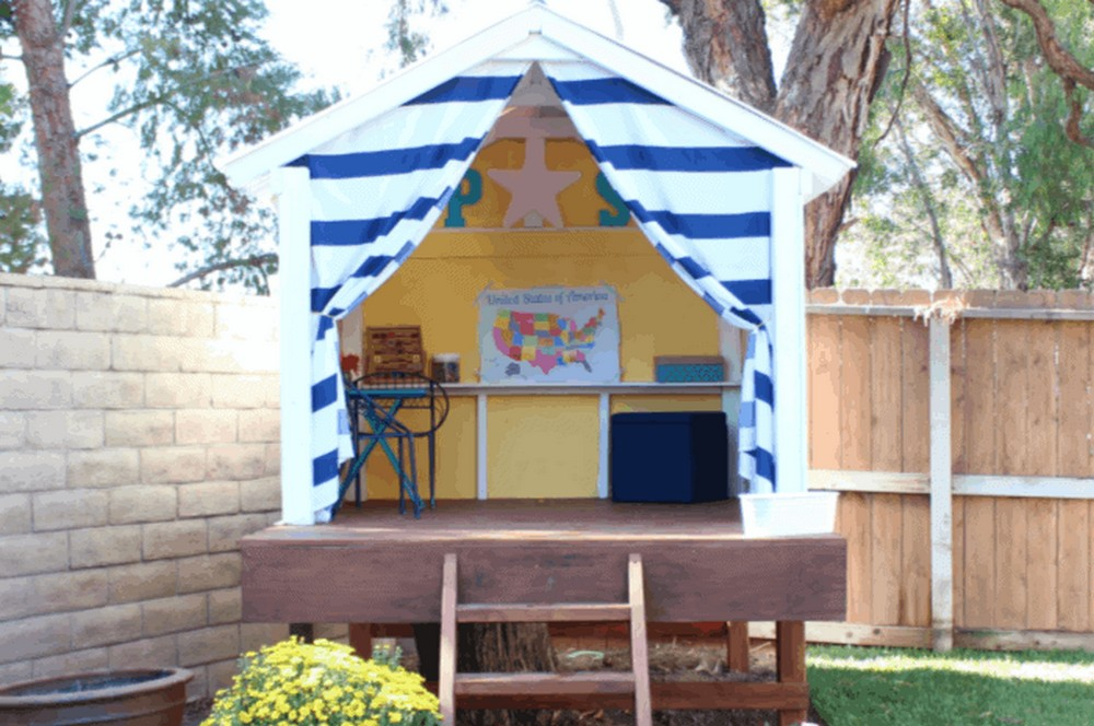 Made With Happy Diy Treehouse Playhouse