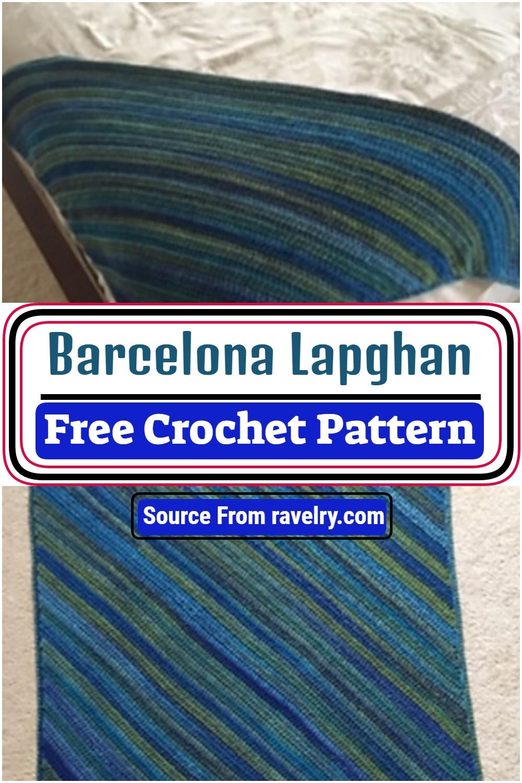Barcelona Lapghan Crochet Pattern