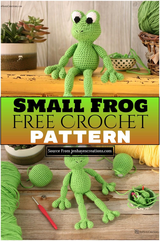 Crochet Small Frog Free Pattern