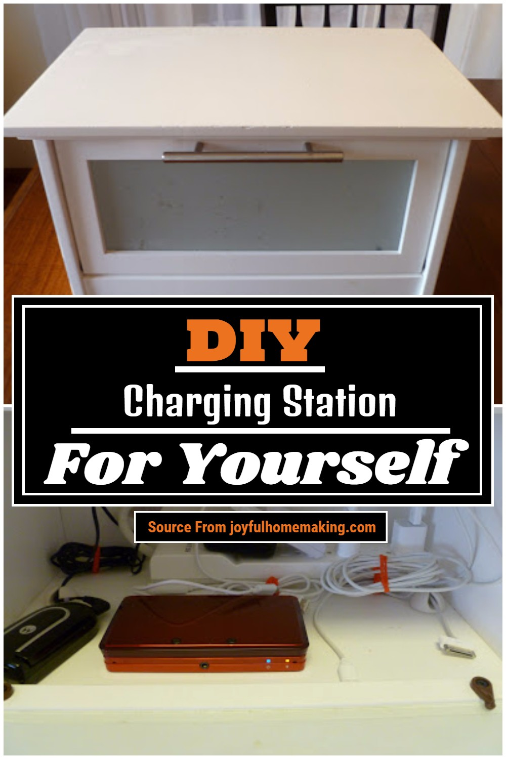 DIY Charging Station For Yourself