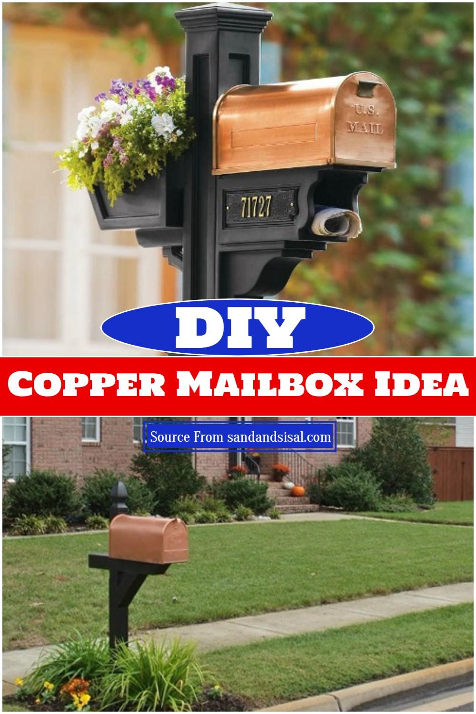 DIY Copper Mailbox Idea