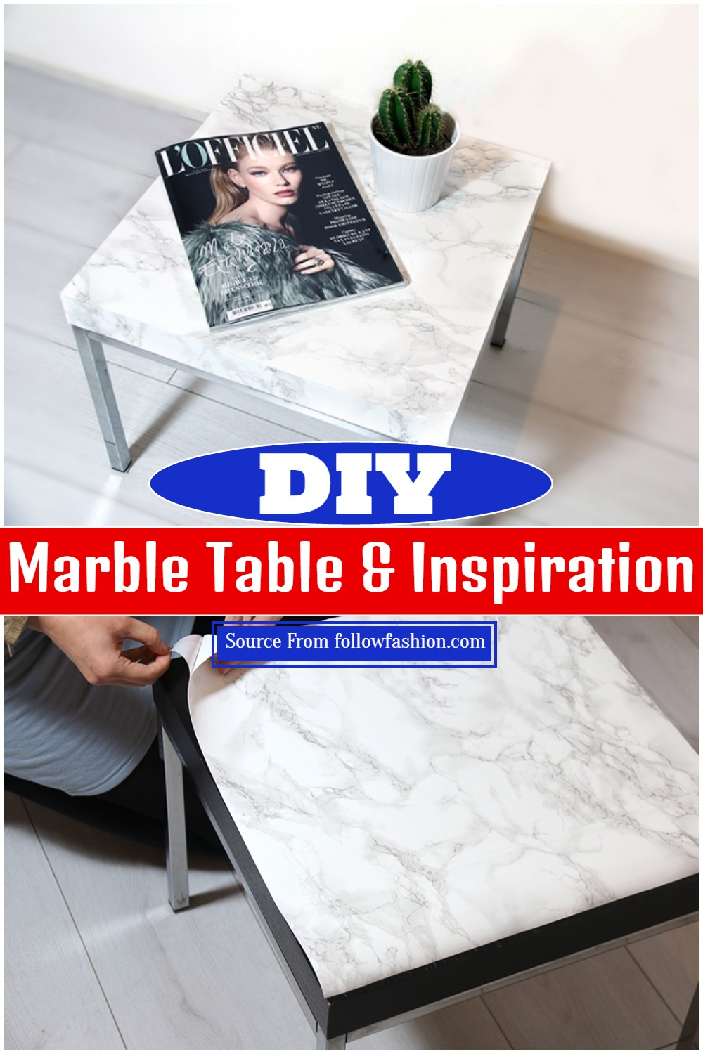 DIY Marble Table & Inspiration