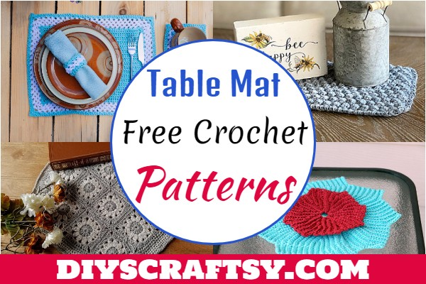 Free Crochet Table Mat Patterns