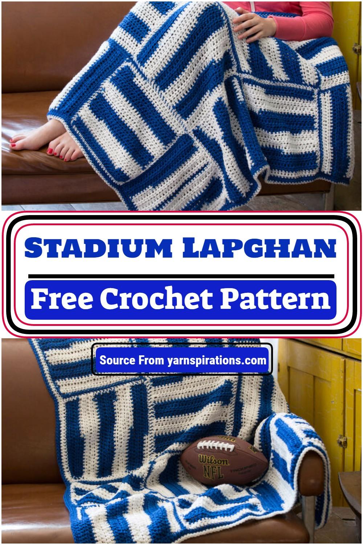 Stadium Lapghan Crochet Pattern