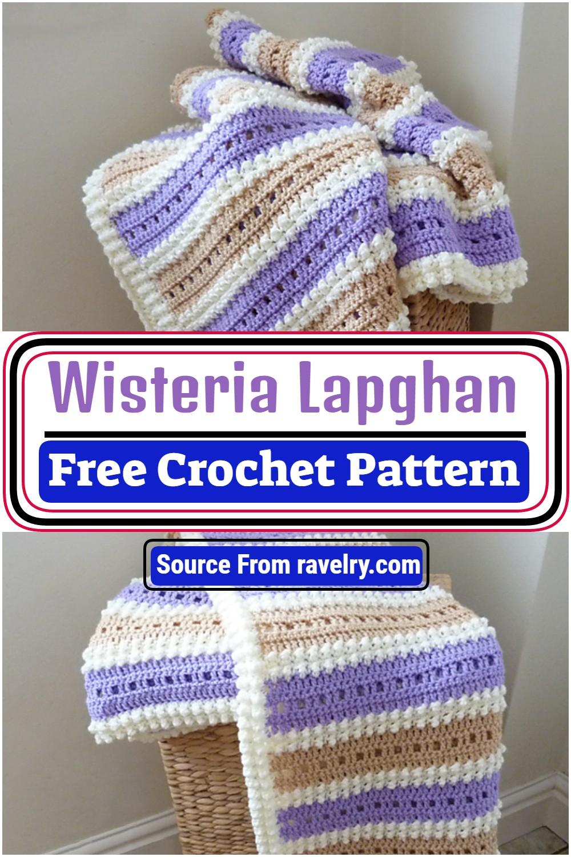 Wisteria Crochet Lapghan Pattern